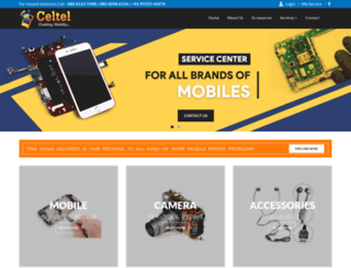 celtelindia.com screenshot