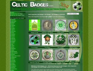 celtic-badges.com screenshot