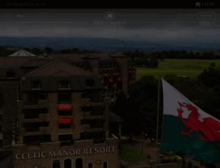 celtic-manor.com screenshot
