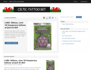 celtic-tattoo.net screenshot