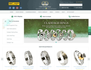 celtic-weddingrings.com screenshot