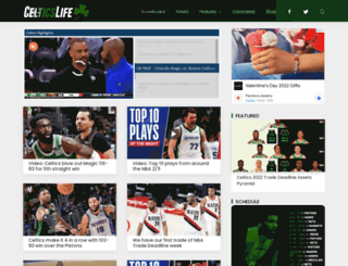 celticslife.com screenshot