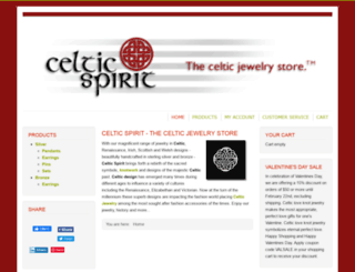 celticspirit.com screenshot