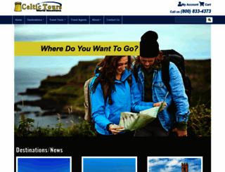 celtictours.com screenshot
