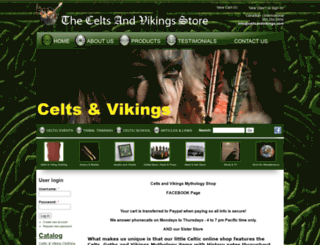 celtsandvikings.com screenshot