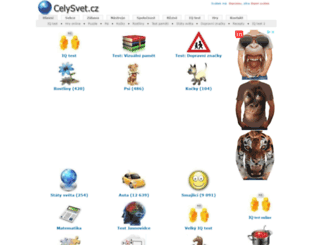celysvet.cz screenshot
