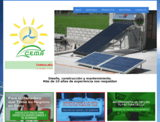 cemasolar.com.mx screenshot