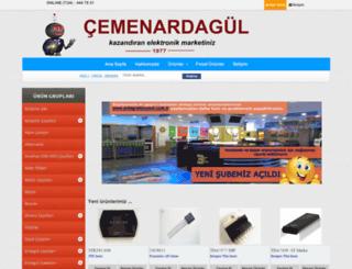 cemenardagul.com screenshot