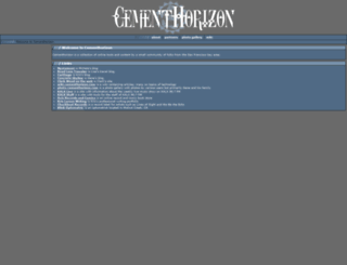 cementhorizon.com screenshot