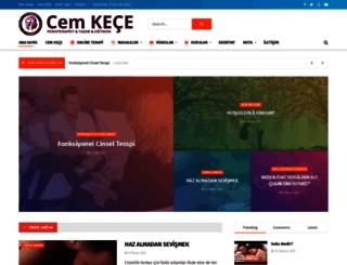 cemkece.com.tr screenshot