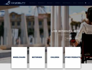 cemobility.co.za screenshot