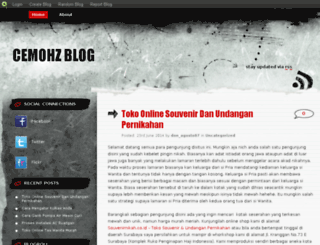cemohz.blog.com screenshot