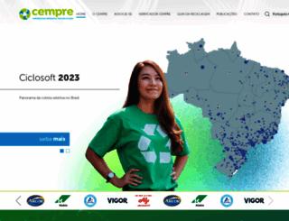 cempre.org.br screenshot