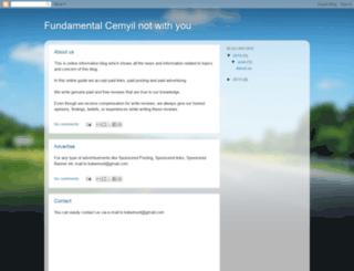 cemyilmazfundamentalsizle.blogspot.com screenshot