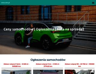 cena.com.pl screenshot