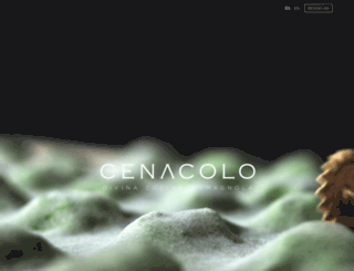 cenacolo.com.mx screenshot