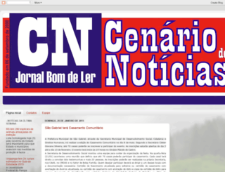 cenariodenoticias.blogspot.com.br screenshot