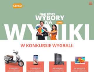 ceneowybory.pl screenshot