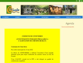 cenevieres.fr screenshot