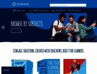 cengage.co.uk screenshot