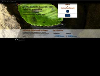cengagenow.com screenshot