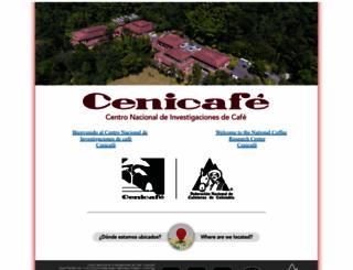cenicafe.org screenshot