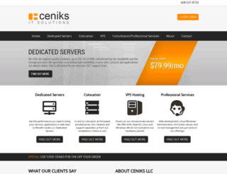 ceniks.com screenshot