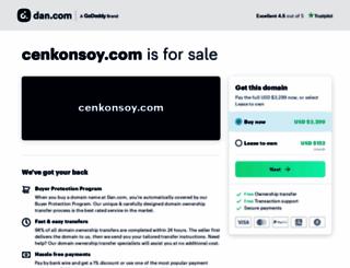 cenkonsoy.com screenshot