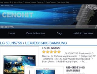 cenohit.pl screenshot