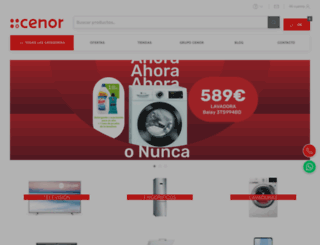 cenor.es screenshot