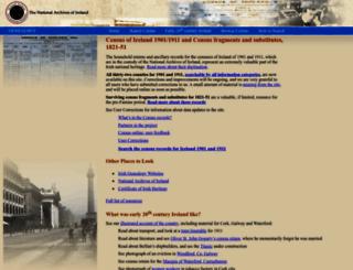 census.nationalarchives.ie screenshot