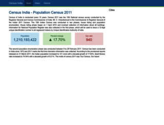 censusindia.co.in screenshot