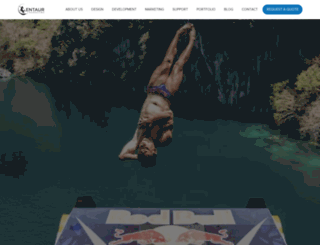 centaurmarketing.co screenshot