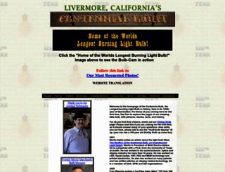 centennialbulb.org screenshot