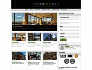 centercityliving.com screenshot