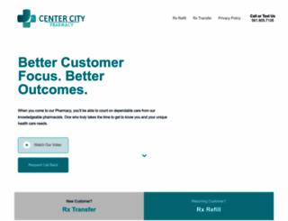 centercitypharmacy.com screenshot