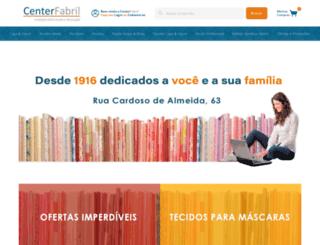 centerfabril.com.br screenshot