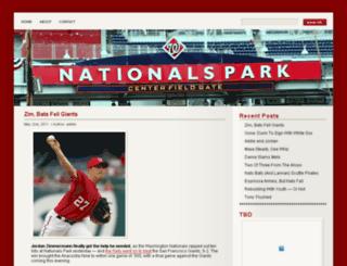 centerfieldgate.com screenshot