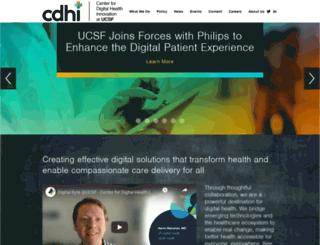 centerfordigitalhealthinnovation.org screenshot