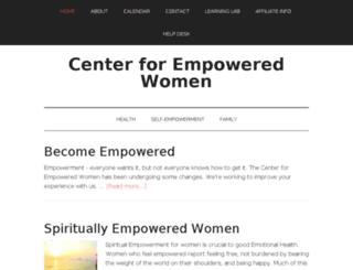 centerforempoweredwomen.com screenshot