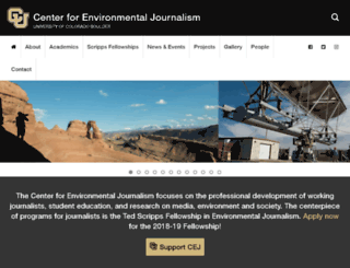 centerforenvironmentaljournalism.businesscatalyst.com screenshot