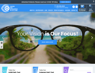 centerforeyecare.com screenshot