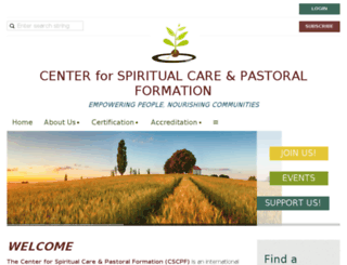centerforspiritualcareandpastoralformation.wildapricot.org screenshot