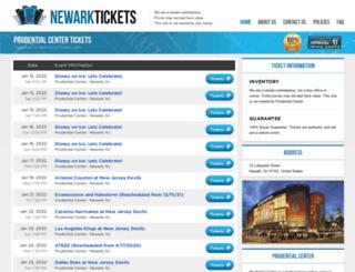 centernewark.com screenshot