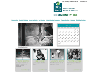centerpointcommunityice.com screenshot