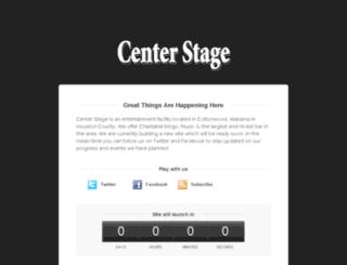 centerstagealabama.com screenshot