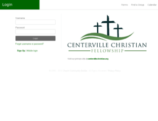 centervillechristian.ccbchurch.com screenshot