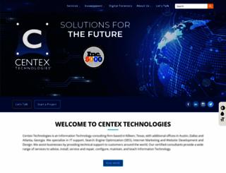 centextech.com screenshot