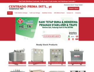 centrado.co.id screenshot