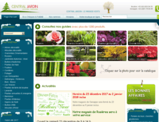 central-jardin-be.micrologiciel.com screenshot